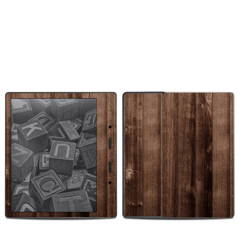 Stained Wood Amazon Kindle Oasis 2 Skin