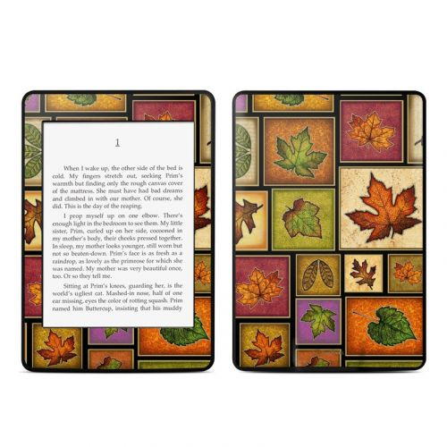 Fall Leaves Amazon Kindle Paperwhite Skin