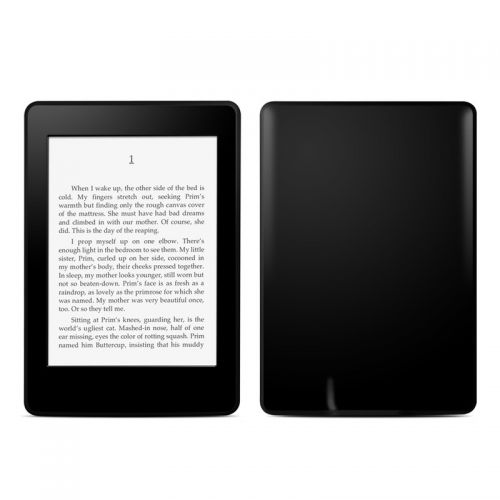 Solid State Black Amazon Kindle Paperwhite Skin