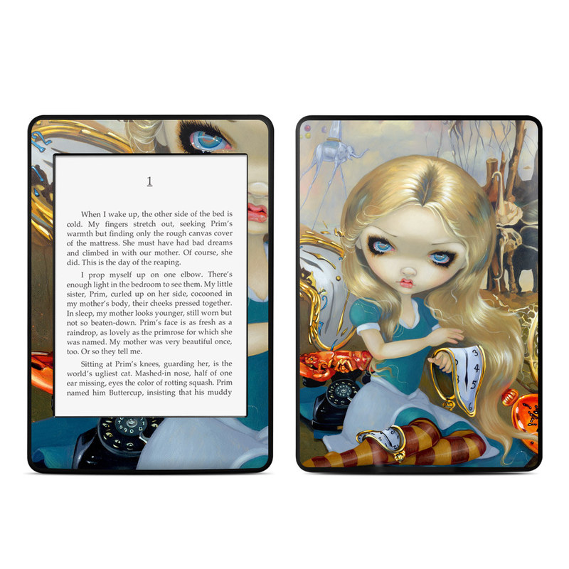 Alice in a Dali Dream Amazon Kindle Paperwhite Skin
