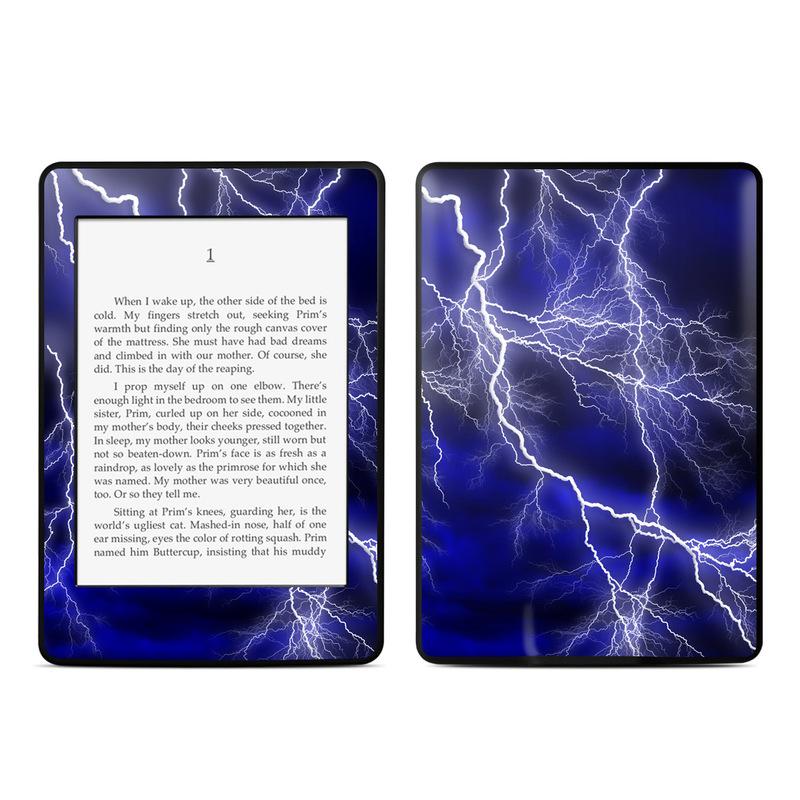 Apocalypse Blue Amazon Kindle Paperwhite 3rd Gen Skin