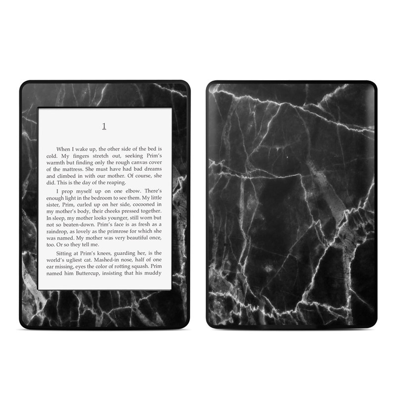 Black Marble Amazon Kindle Paperwhite Skin