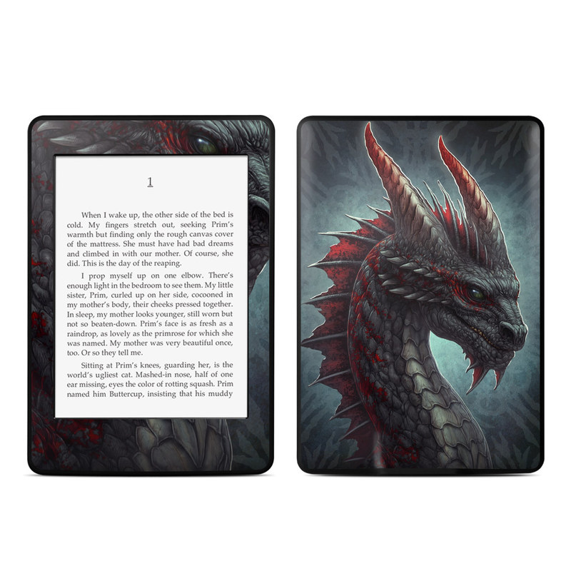 Black Dragon Amazon Kindle Paperwhite Skin
