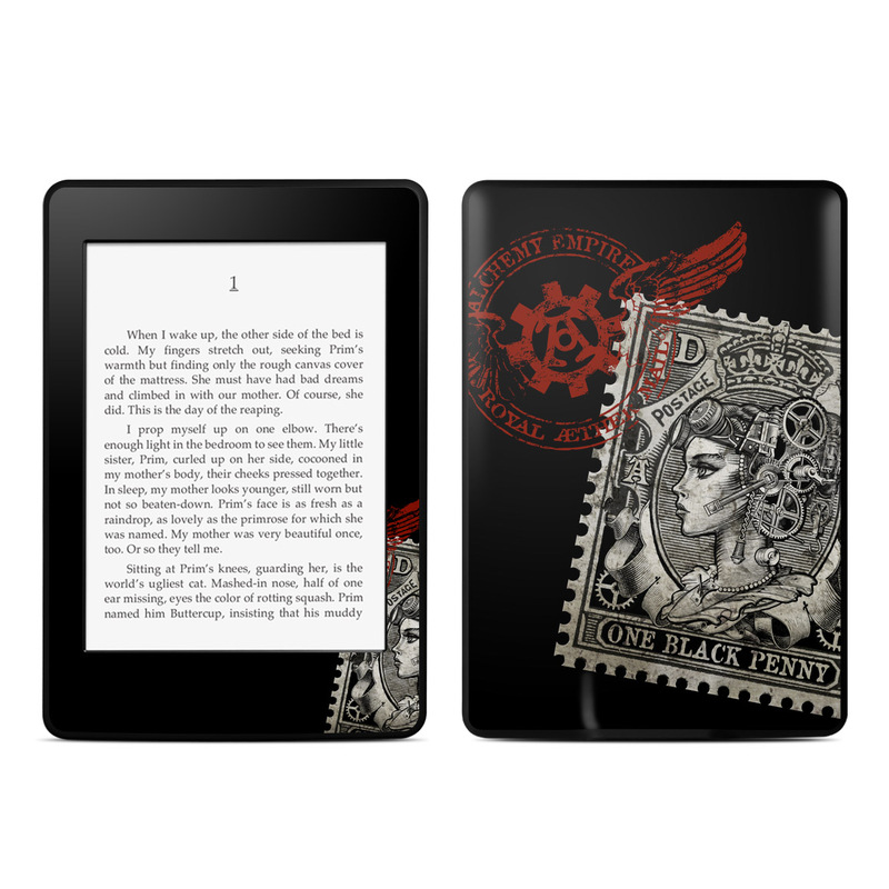 Black Penny Amazon Kindle Paperwhite Skin