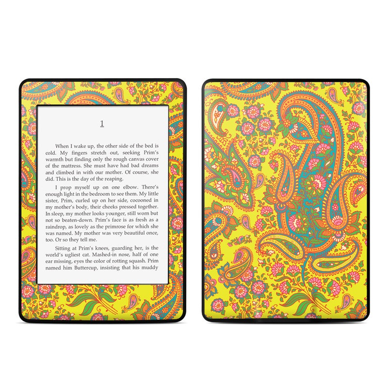 Bombay Chartreuse Amazon Kindle Paperwhite Skin