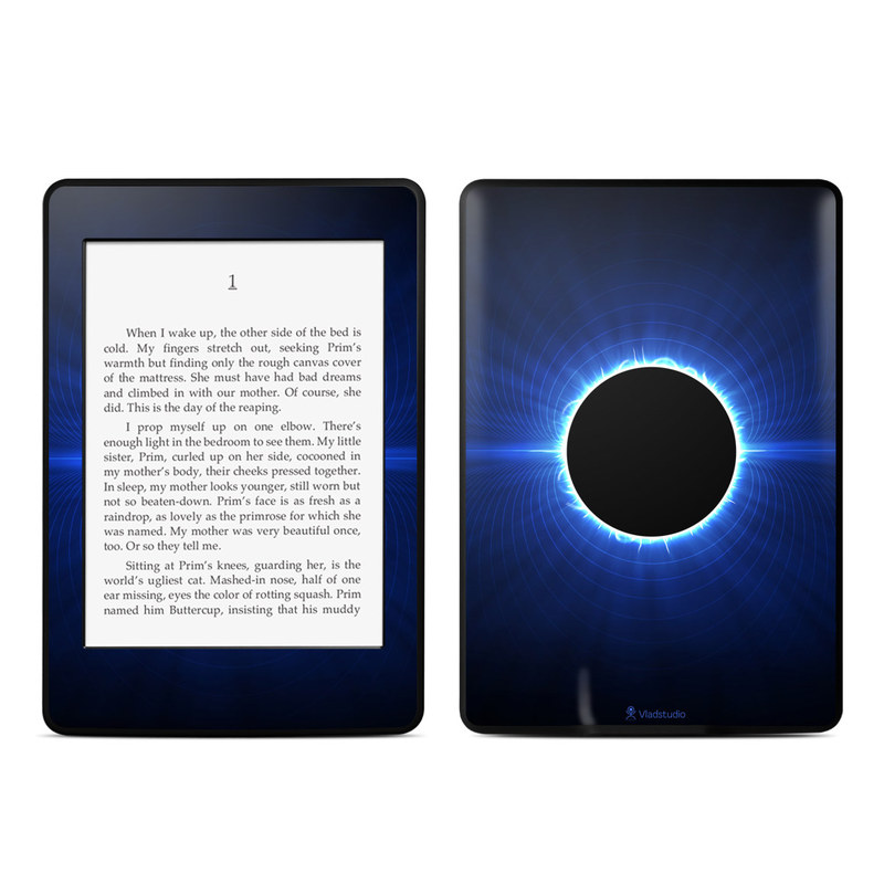Blue Star Eclipse Amazon Kindle Paperwhite Skin