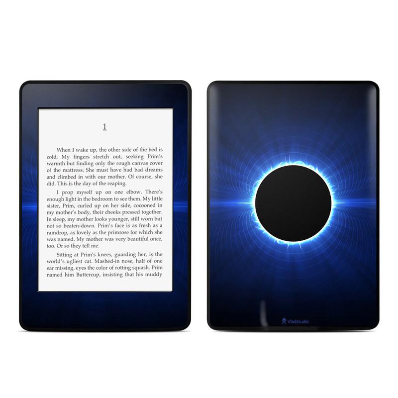 Blue Star Eclipse Amazon Kindle Paperwhite Skin
