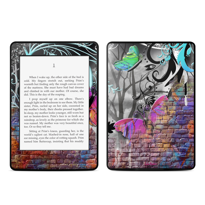 Butterfly Wall Amazon Kindle Paperwhite Skin