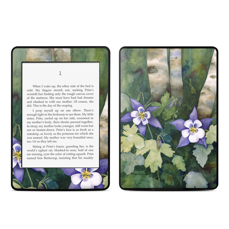 Colorado Columbines Amazon Kindle Paperwhite Skin