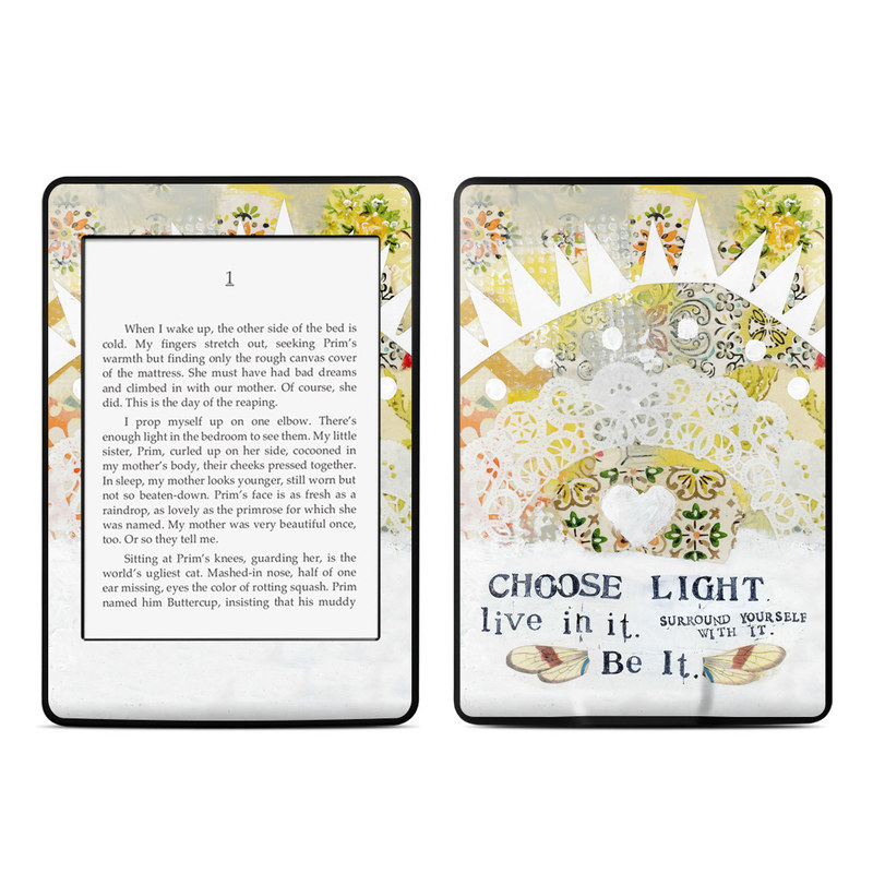 Choose Light Amazon Kindle Paperwhite 3rd Gen Skin