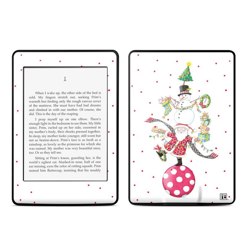 Christmas Circus Amazon Kindle Paperwhite Skin