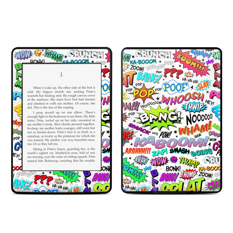 Comics Amazon Kindle Paperwhite Skin