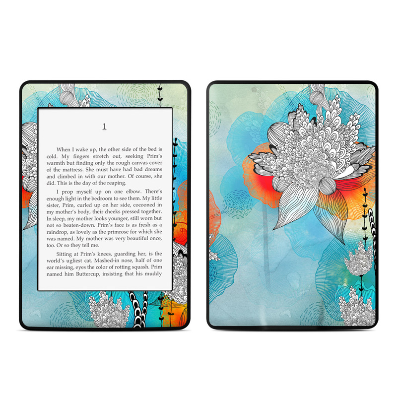 Coral Amazon Kindle Paperwhite Skin