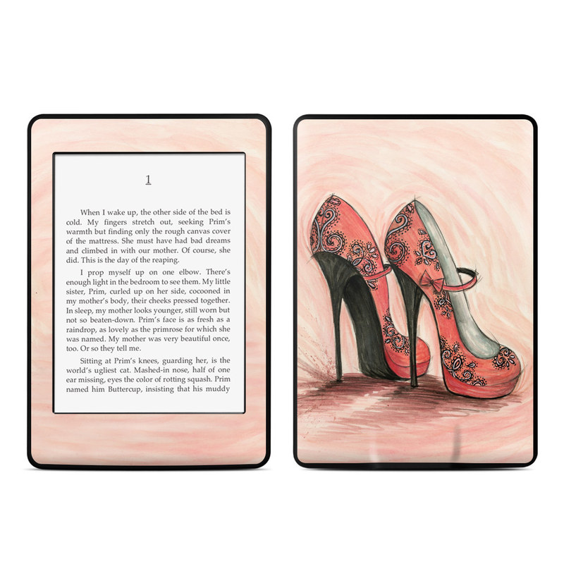Coral Shoes Amazon Kindle Paperwhite Skin