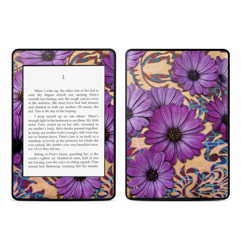 Daisy Damask Amazon Kindle Paperwhite 3rd Gen Skin