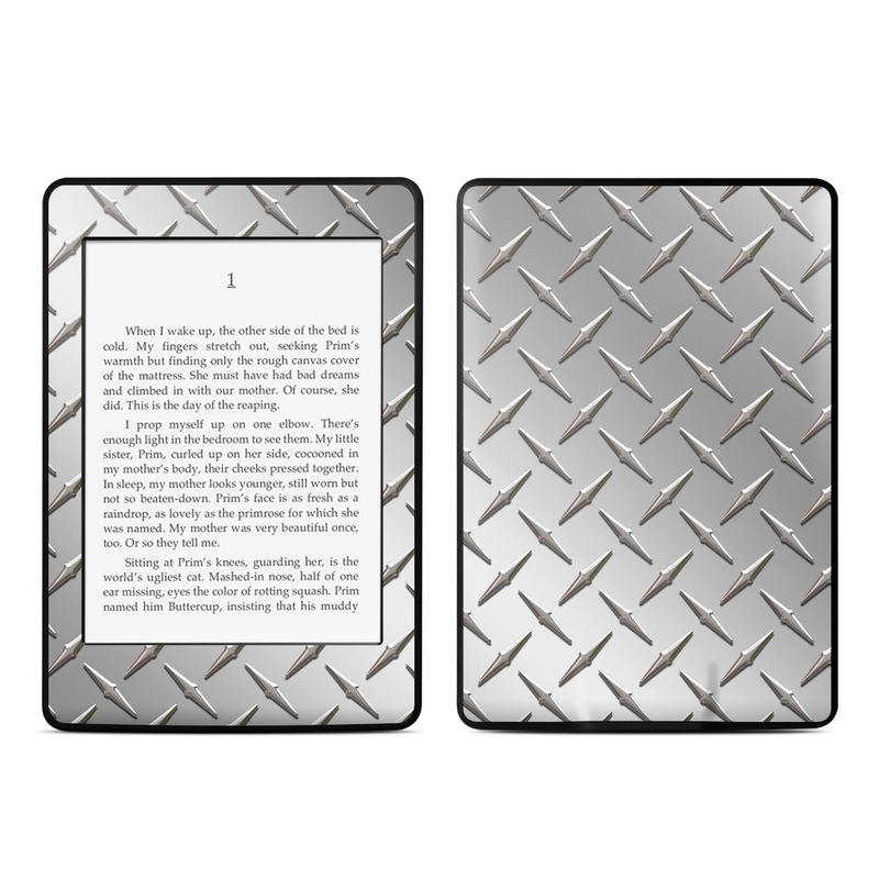 Diamond Plate Amazon Kindle Paperwhite Skin