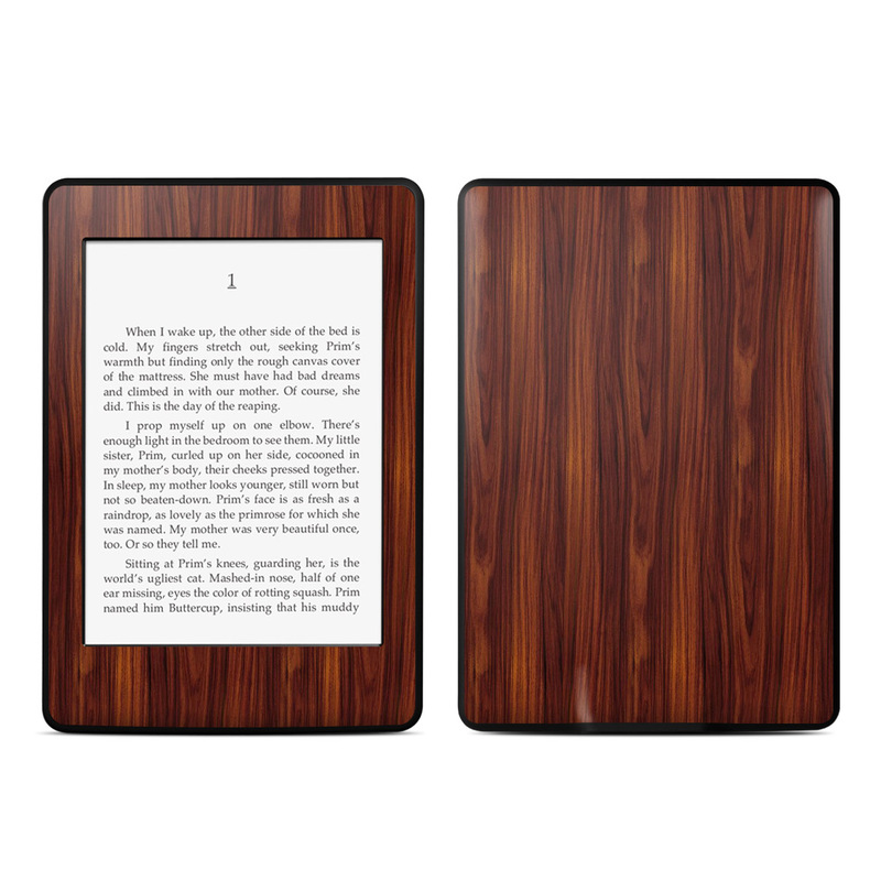 Dark Rosewood Amazon Kindle Paperwhite Skin