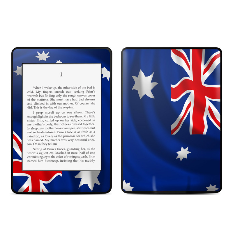 Down Under Amazon Kindle Paperwhite Skin