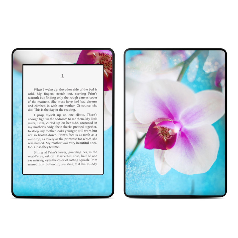 Eva's Flower Amazon Kindle Paperwhite Skin