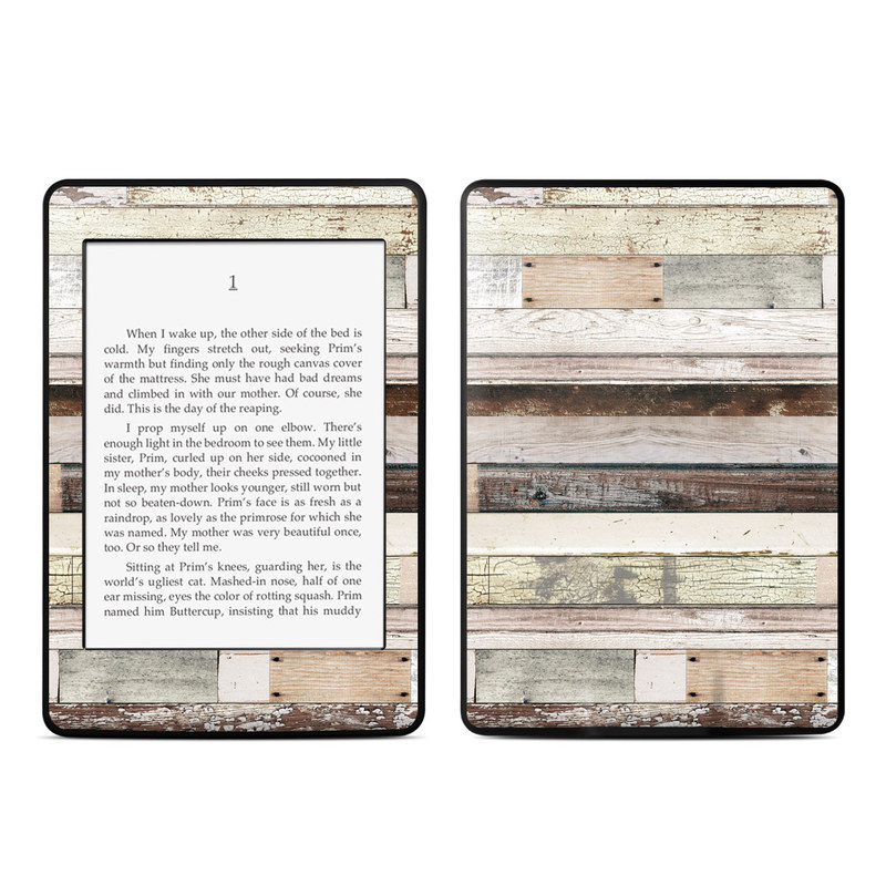 Eclectic Wood Amazon Kindle Paperwhite Skin