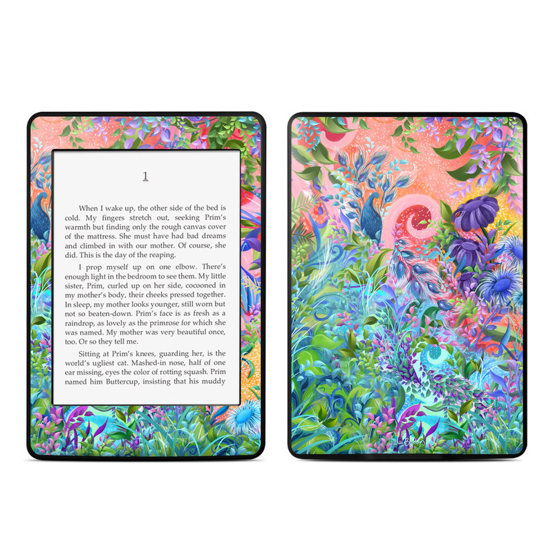 Fantasy Garden Amazon Kindle Paperwhite 3rd Gen Skin
