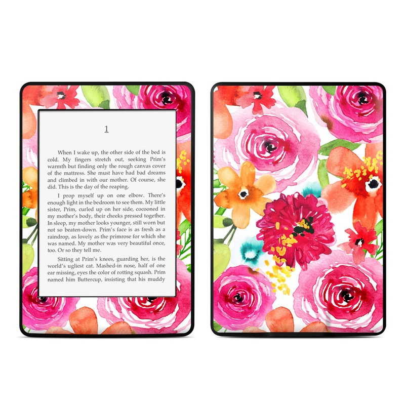 Floral Pop Amazon Kindle Paperwhite Skin