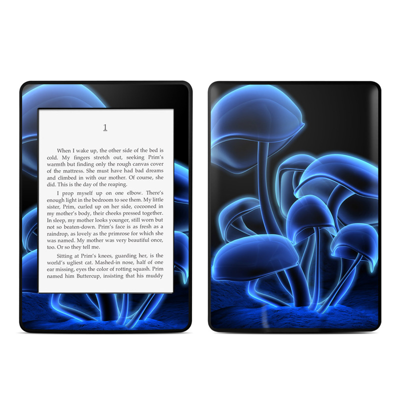 Fluorescence Blue Amazon Kindle Paperwhite Skin