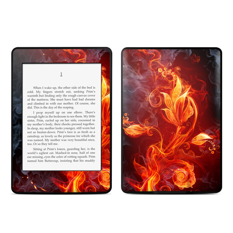 Flower Of Fire Amazon Kindle Paperwhite Skin