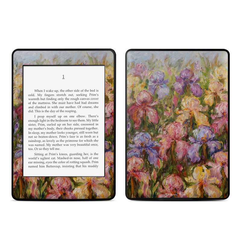 Field Of Irises Amazon Kindle Paperwhite Skin