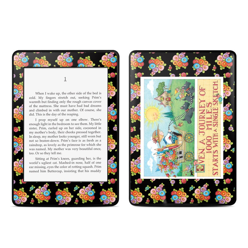 Forty Year Journey Amazon Kindle Paperwhite Skin