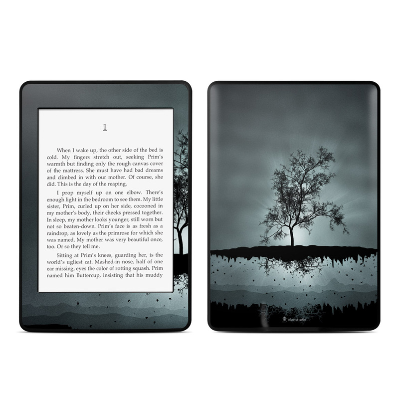 Flying Tree Black Amazon Kindle Paperwhite Skin