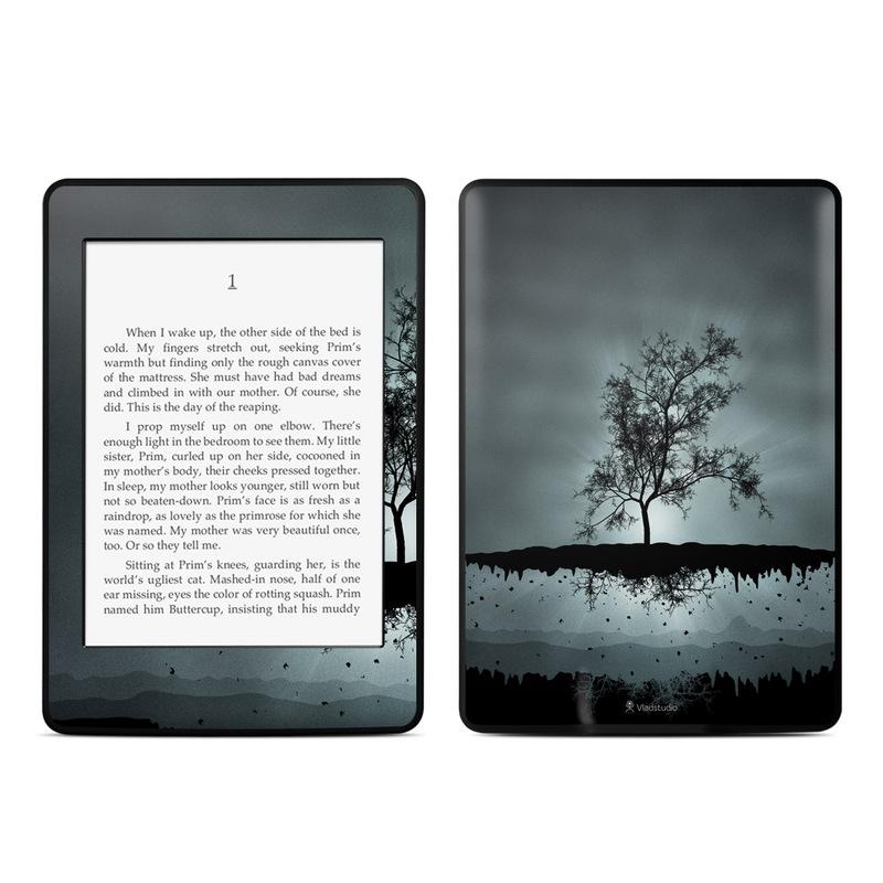 Flying Tree Black Amazon Kindle Paperwhite 3rd Gen Skin