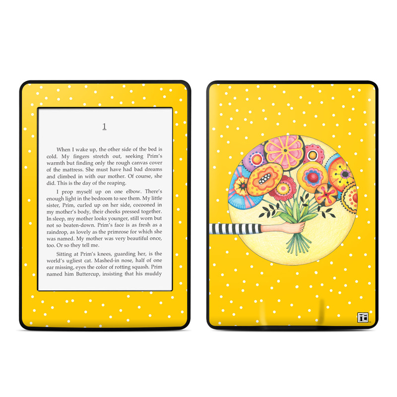Giving Amazon Kindle Paperwhite Skin