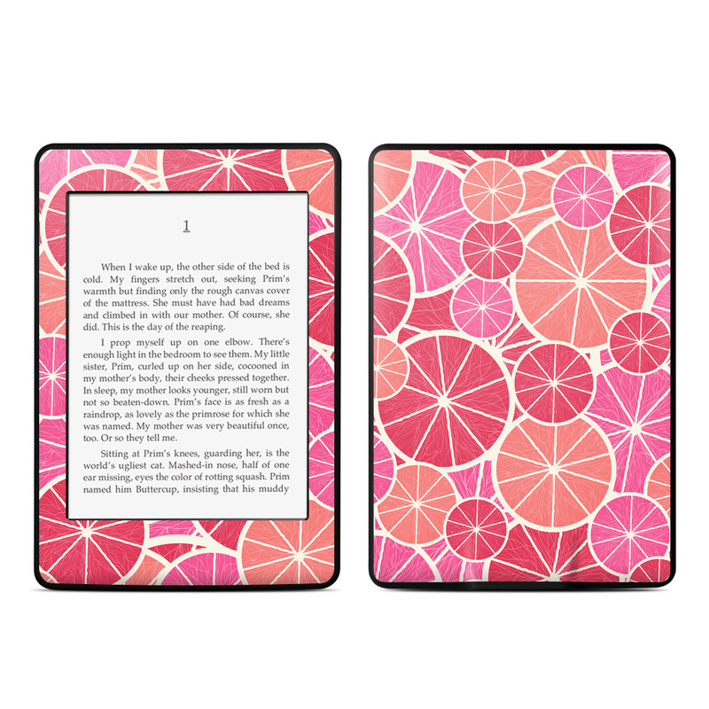 Grapefruit Amazon Kindle Paperwhite Skin