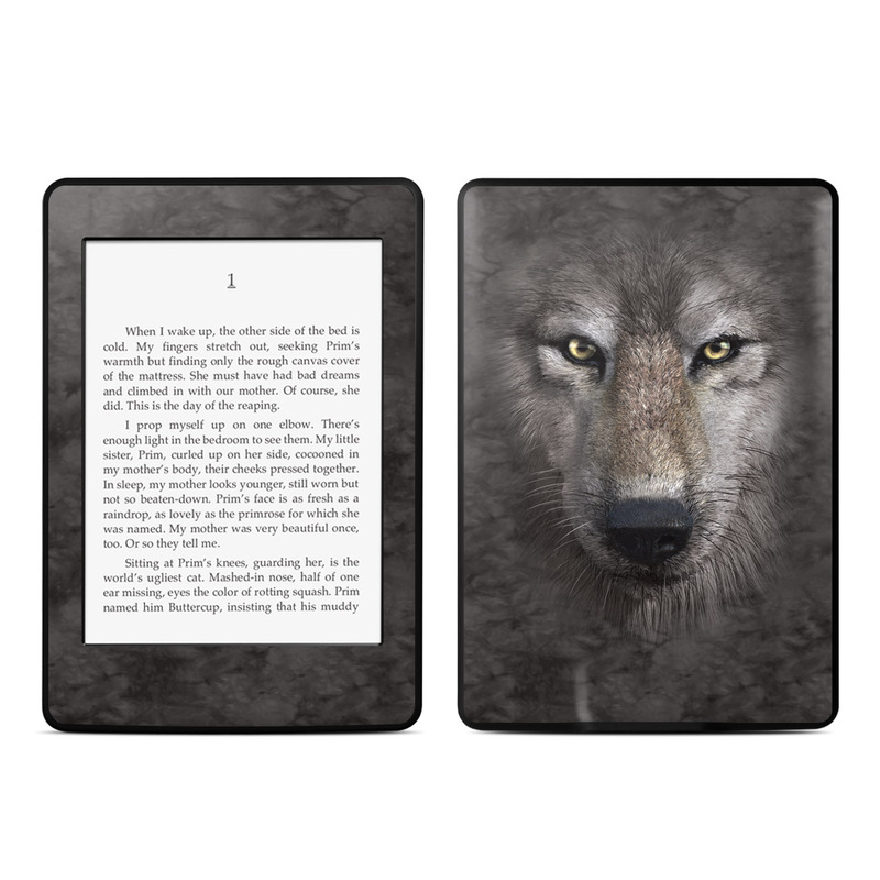 Grey Wolf Amazon Kindle Paperwhite Skin