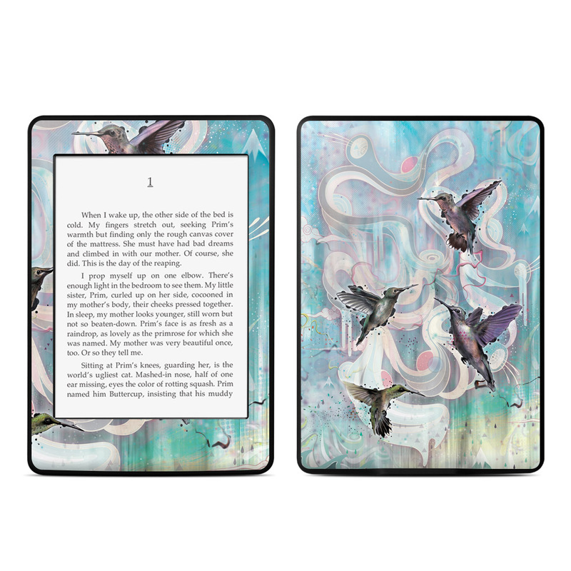 Hummingbirds Amazon Kindle Paperwhite 3rd Gen Skin