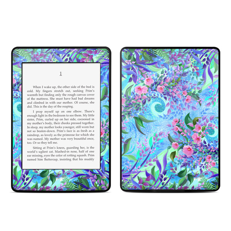 Lavender Flowers Amazon Kindle Paperwhite 3rd Gen Skin