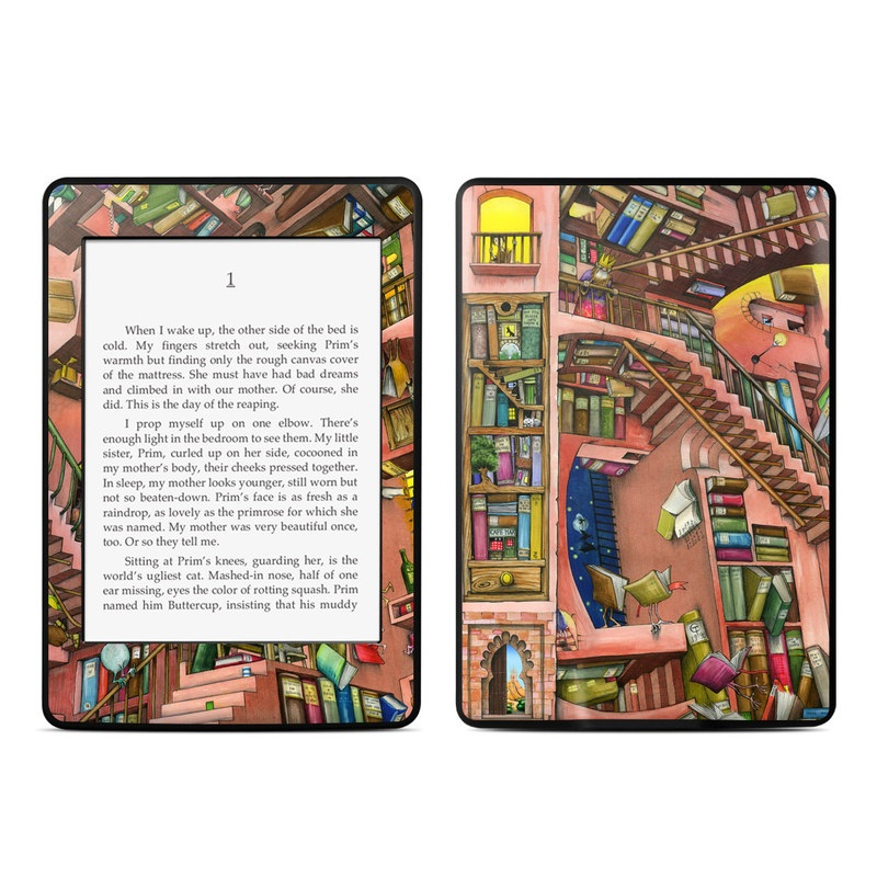 Library Magic Amazon Kindle Paperwhite Skin