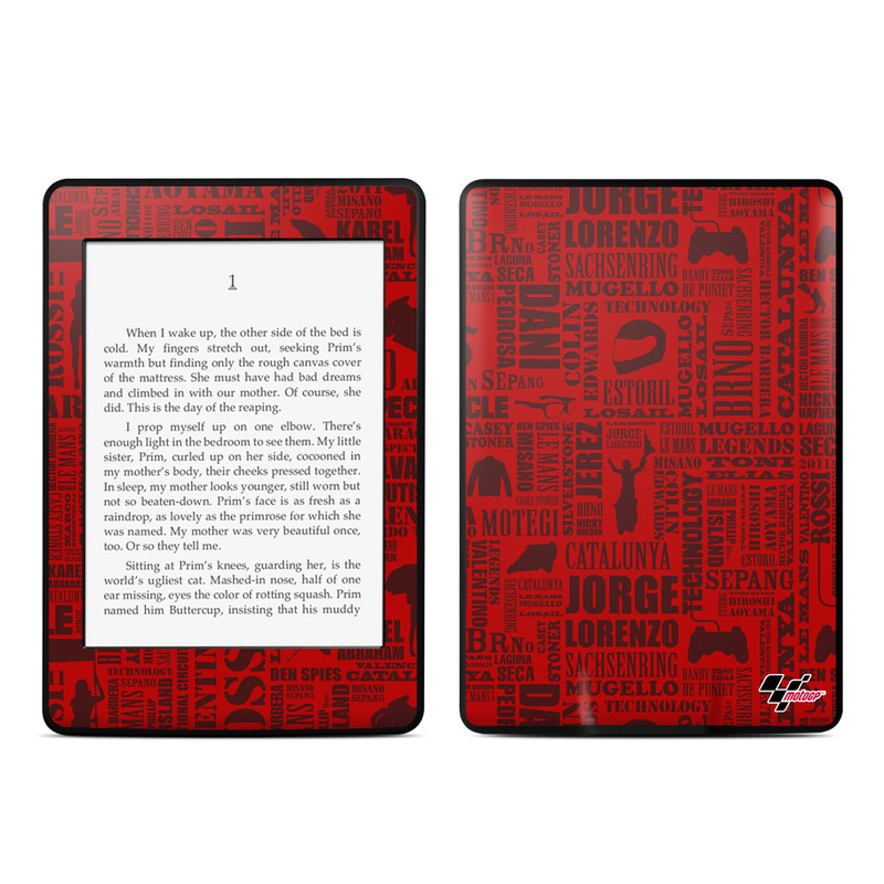 Life of MotoGP Amazon Kindle Paperwhite Skin