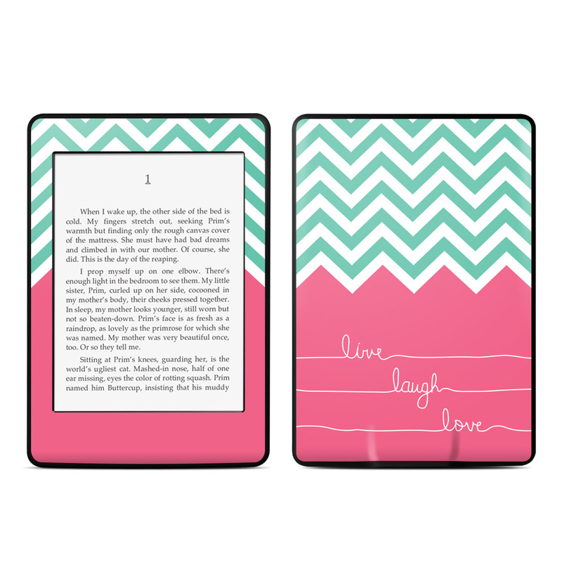 Live Laugh Love Amazon Kindle Paperwhite Skin