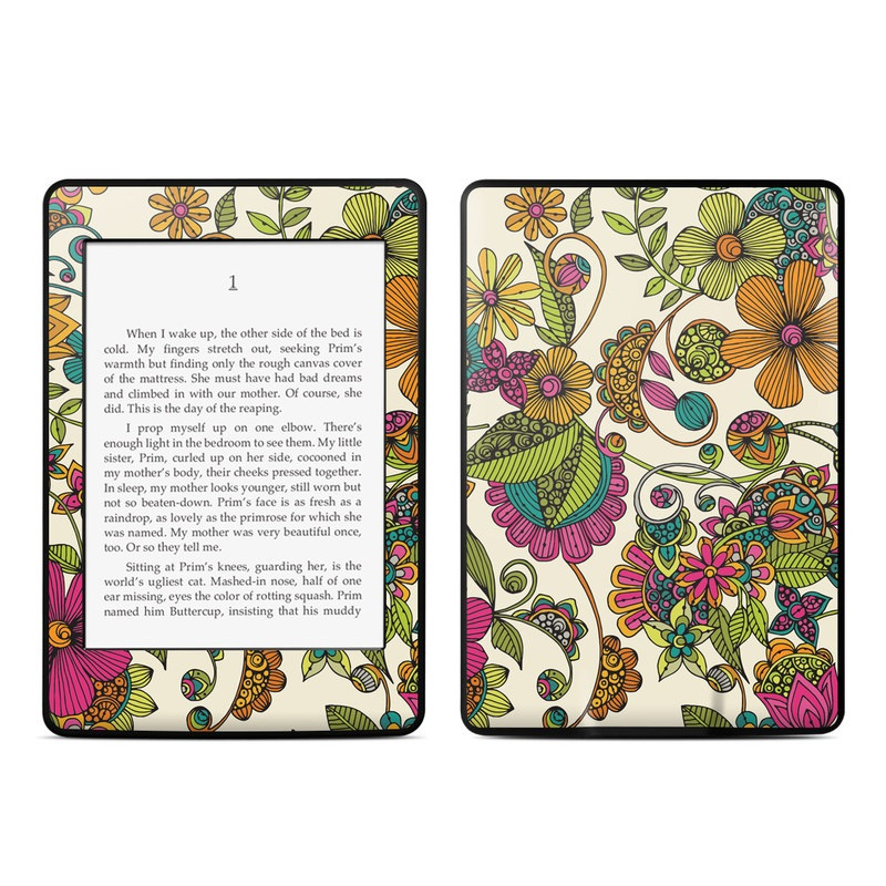 Maia Flowers Amazon Kindle Paperwhite Skin