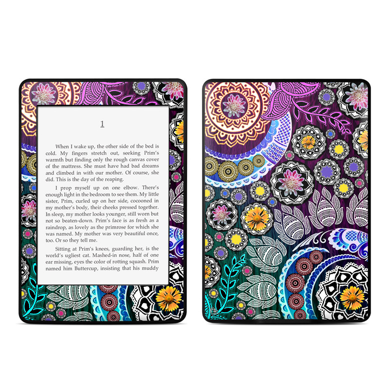 Mehndi Garden Amazon Kindle Paperwhite Skin
