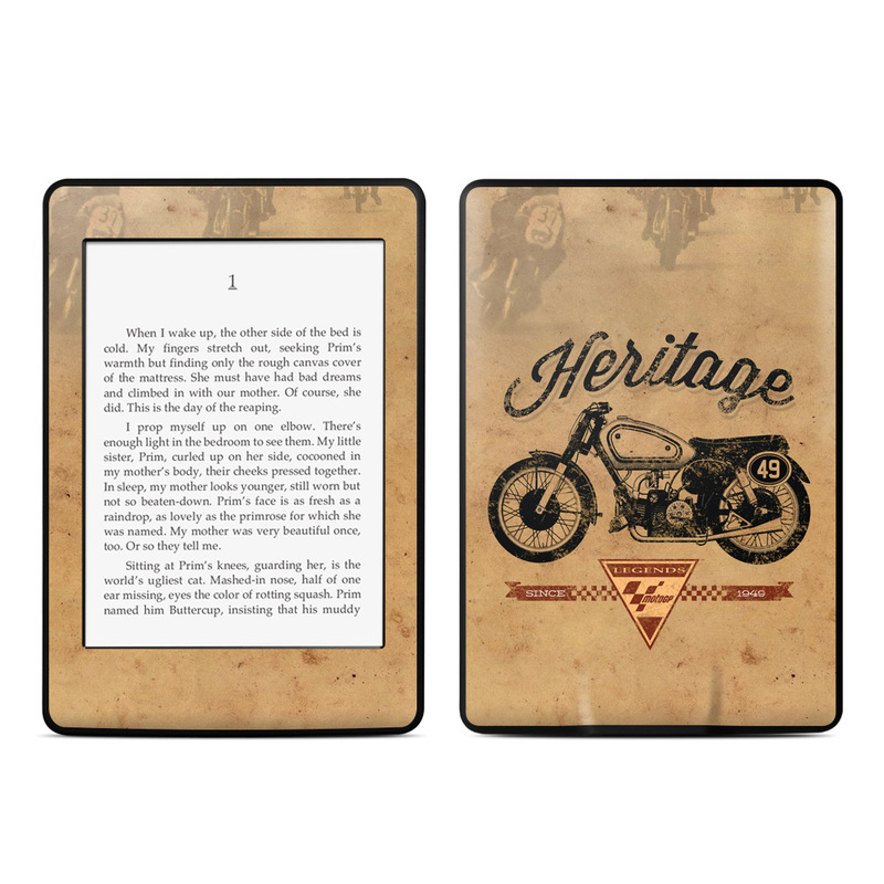 MotoGP Heritage Amazon Kindle Paperwhite Skin