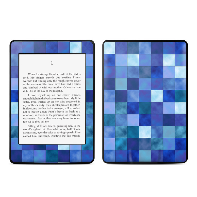 Blue Mosaic Amazon Kindle Paperwhite Skin