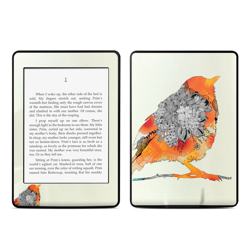 Orange Bird Amazon Kindle Paperwhite Skin