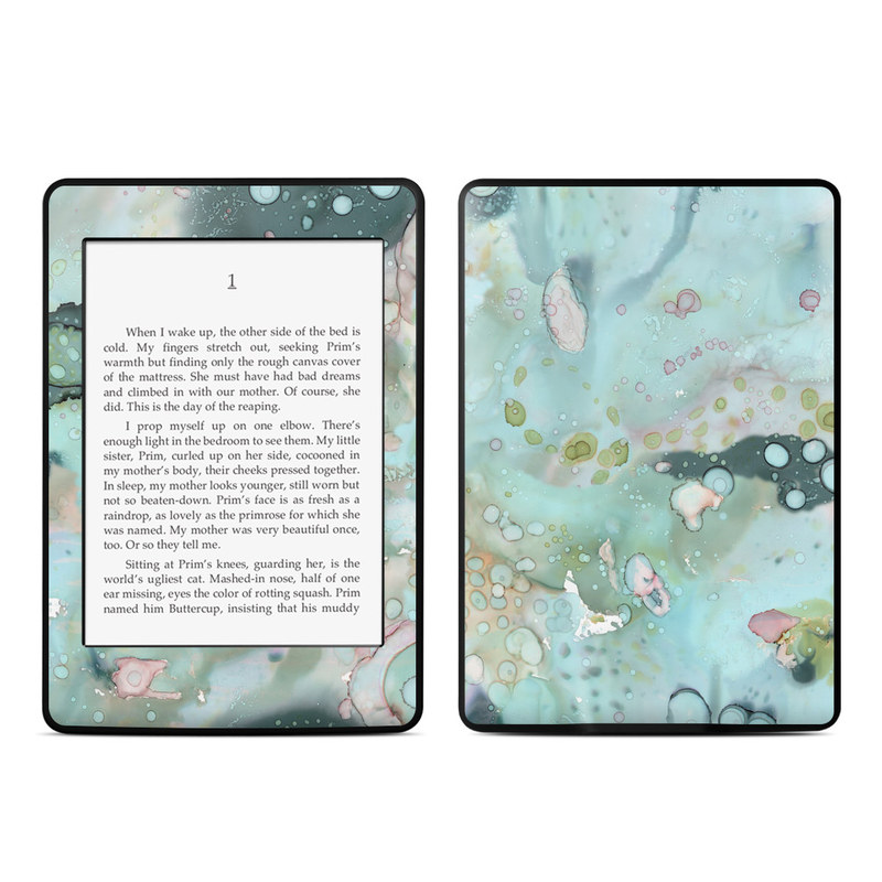 Organic In Blue Amazon Kindle Paperwhite Skin
