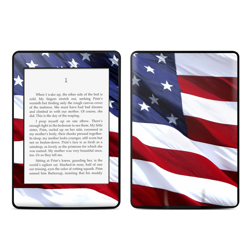 Patriotic Amazon Kindle Paperwhite Skin