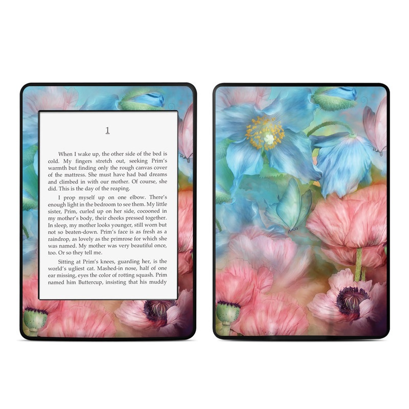 Poppy Garden Amazon Kindle Paperwhite Skin