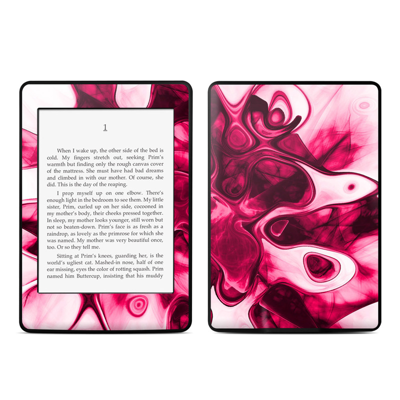 Pink Splatter Amazon Kindle Paperwhite Skin