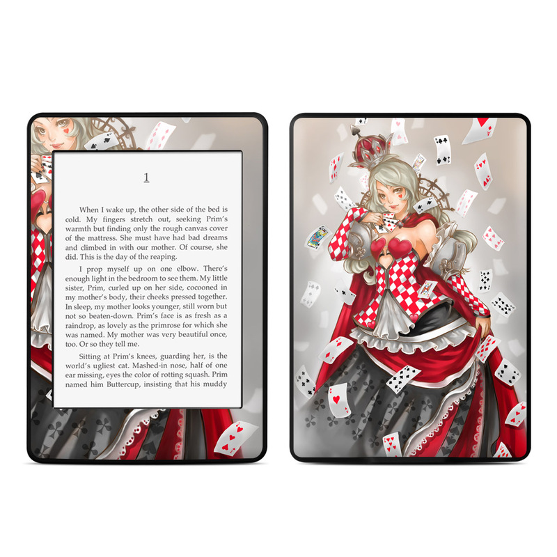 Queen Of Cards Amazon Kindle Paperwhite Skin